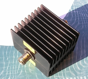 Fixed Attenuator, 50 Ohm, DC-6 GHz, 3 dB, 50 Watts, N fe/fe
