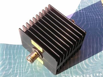 Fixed Attenuator, 50 Ohm, DC-6 GHz, 3 dB, 50 Watts, N fe/fe
