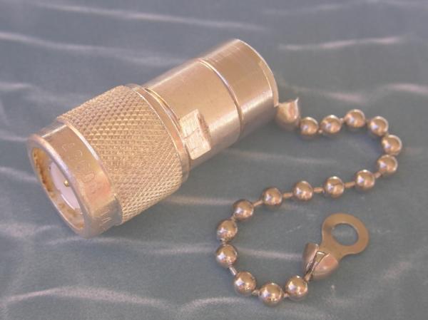 Termination, 50 Ohm, DC-3 GHz, 1 Watt, TNC male with bead chain