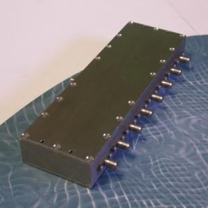 Power Divider, 8 Way, 50 Ohm, 2-4 GHz, 5 Watts, SMA female