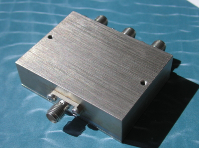 Power Divider, 3 Way, 50 Ohm, 400-450 MHz, 1 Watt, SMA female