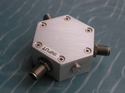 Power Divider, 2 Way, 50 Ohm, DC-6 GHz, 1 Watt, SMA female