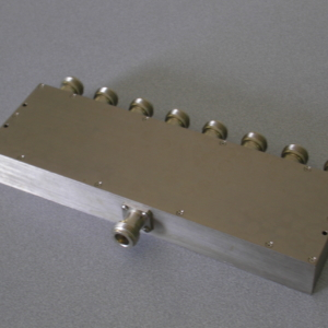 Power Divider, 8 Way, 50 Ohm, 800-3500 MHz, 5 Watts, N female