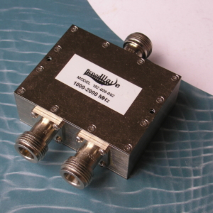 Power Divider, 2 Way, 50 Ohm, 1-2 GHz, 5 Watts, N female