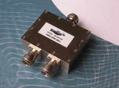 Power Divider, 2 Way, 50 Ohm, 1-2 GHz, 5 Watts, N female