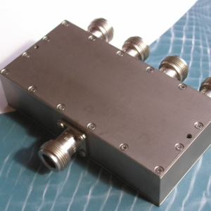 Power Divider, 4 Way, 50 Ohm, 2-4 GHz, 5 Watts, N female