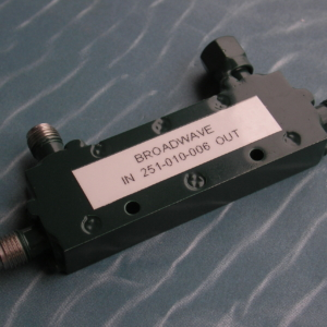 Directional Coupler, 50 Ohm, 2-18 GHz, 6 dB, SMA female