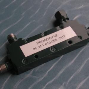Directional Coupler, 50 Ohm, 2-18 GHz, 6 dB, SMA female